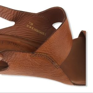 Kork Ease Sloane Leather Sandals Sz 7 Brown